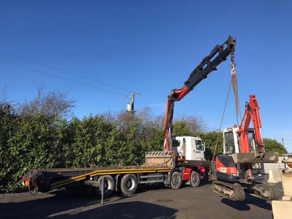 Talbot Crane Truck Hire Ireland