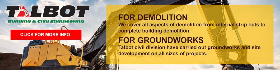 Talgroup - demolition and groundworks