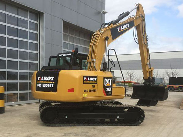 CAT 3 tonne mini digger for hire Ireland