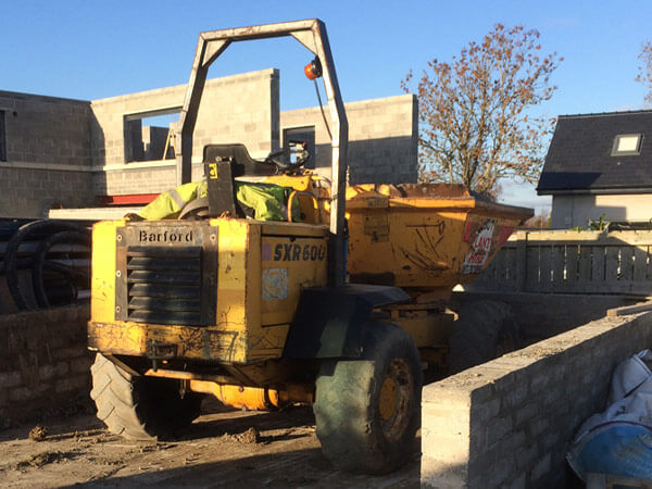 Dumper for hire Dublin Kildare