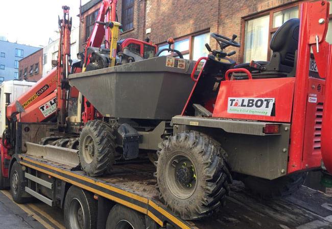 planthire Dublin - Talbot Plant Hire