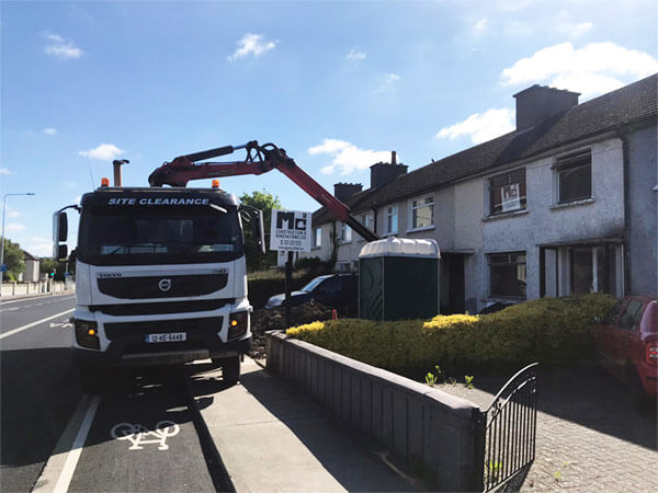 Talbot Grab Hire Truck - Kildare, Dublin